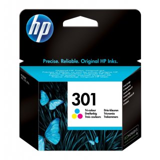tinta HP 301 color